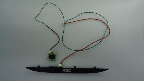 Placa Do Sensor E Teclado Aoc Le40d1452