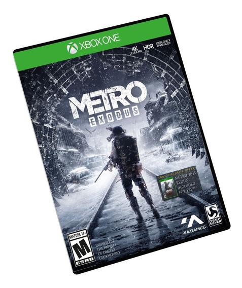 Metro Exodus + Metro Redux 2033 Xbox One Midia Digital + Brinde