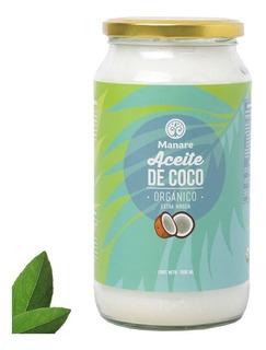 Aceite De Coco Orgánico Manare 1lt - Extravirgen