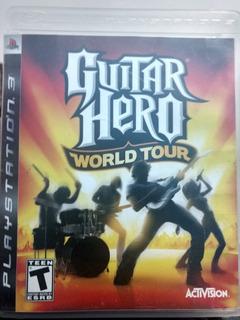 Guitar Hero World Tour Para Ps3!!!