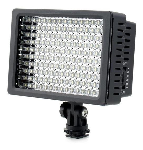 Iluminador Led Hd 160 Foto Video Filmagem Light
