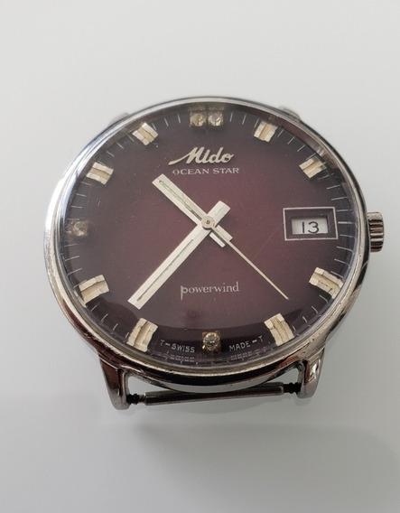Relógio Antigo Mido Ocean Star