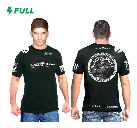 Camisa Clothing Black Skull - Modelo Do Bope - Original