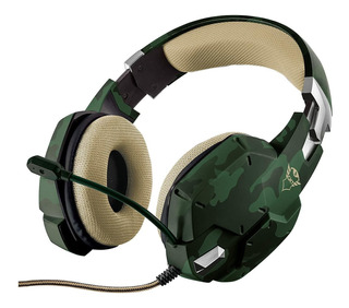 Auriculares Trust Carus jungle camo