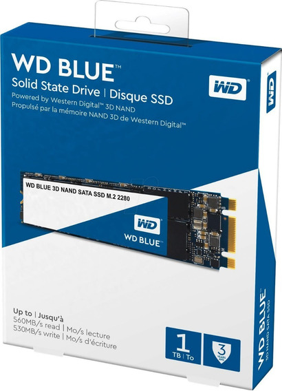 Hd Ssd M2 Wd Blue 1tb 3d Nand Sata Ssd M.2 2280