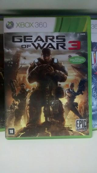 Jogo Do Xbox 360: Gears Of War 3. Frete Grátis