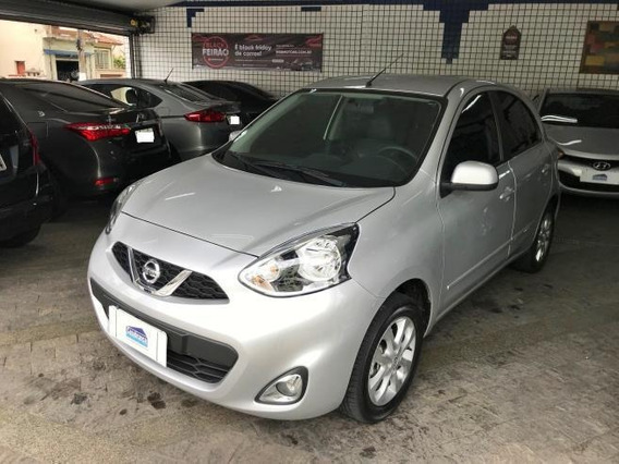 Nissan March 1.0 Sv Flex 2018 Completo