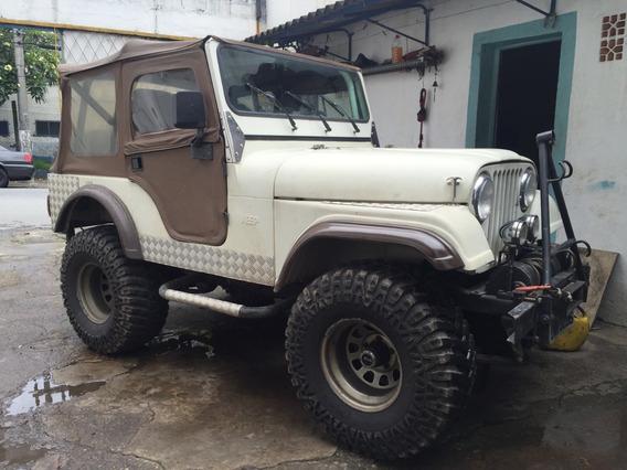 Jeep Willys 4x4, Cambio Clark 5m, 6 Cil Opala Alc E Guincho