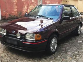 Ford Escort Xr3 1988 88 - 1.6 Alcool - Placa Preta - Premium