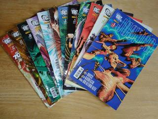 Revistas Hqs Mini Série Justiça - Dc - N° 01 Ao 12