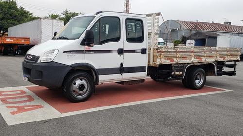 Iveco 70c16 Hd Cabine Dupla Carroceria De Madeira