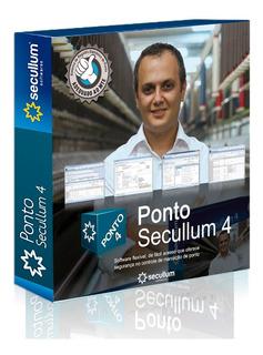 Software Para Relógio De Ponto Secullum 4   Mensal + Suporte