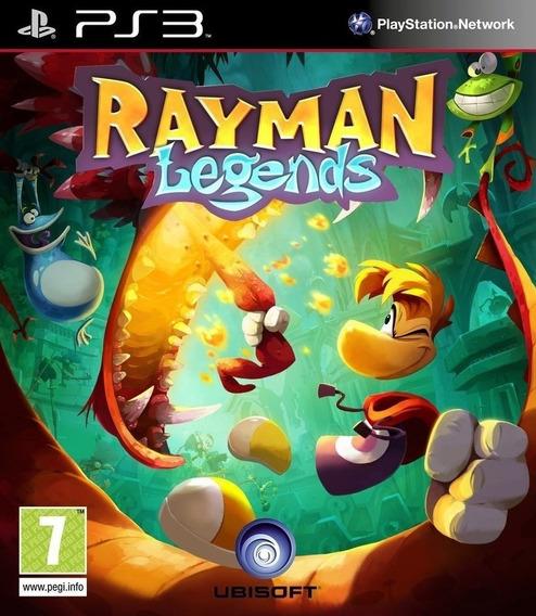 Rayman Legends - Psn Ps3 Português Br