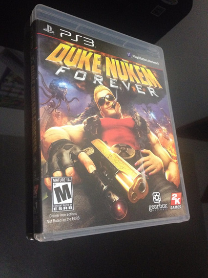 Jogo Duke Nukem Forever Game Ps3 Dvd Original Midia Física