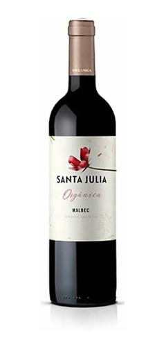 Santa Julia Organico Malbec X 750ml X 12 Unidades