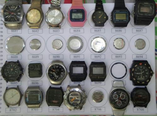 Lote 32 Sucatas Casio E Outros- Máquina Do Tempo