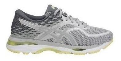 Zapatillas Asics Gel Cumulus 19 Plateado/gris Mujer Running