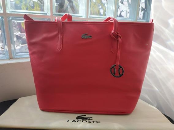 Bolsa Clássica Da Lacoste- Original