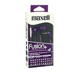 Earphone C/microfone Fus-9 Fusion Flower Rosa Maxell (10578)