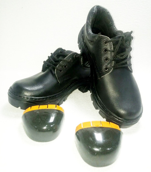 Zapato De Trabajo Caucho Krapert Art108 Ne