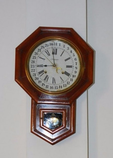 Reloj Antiguo De Pared Ansonia