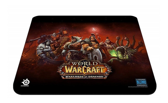 Mousepad Steelseries Qck World Of Warcraft 32 X 27 Cm