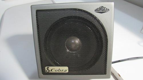 Caixa De Som Cobra Para Rádio Px De Excelente Qualidade