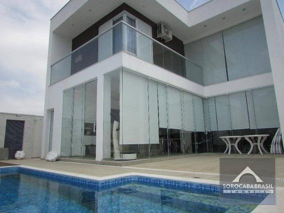 Sobrado Com 3 Dormitórios À Venda, 291 M² Por R$ 1.190.000,00 - Condomínio Chácara Ondina - Sorocaba/sp - So0113