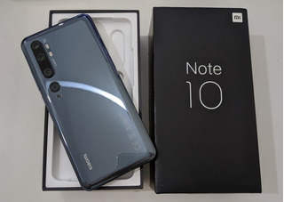 Xiaomi Mi Note 10 128gb - Permuto X Apple Watch 4/5