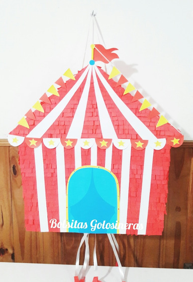 Piñata Circo Payaso Artesanal Personalizada Cumpleaños