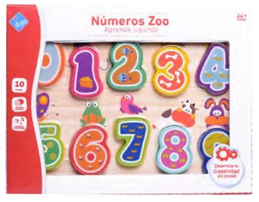 Puzzle De Numeros Primera Infancia Fibro 6811