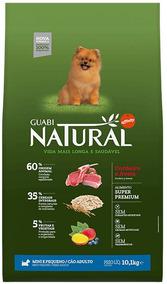 Ração Guabi Natural(cordeiro-aveia) Adulto Mini E P 10,1kg