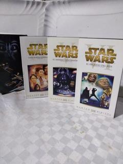 Star Wars Vhs Trilogia Episodio 4, 5 Y 6 Envio Gratis