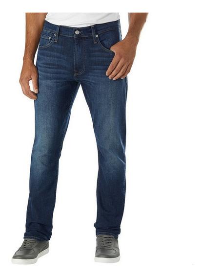 Pantalón De Mezclilla Calvin Klein Azul