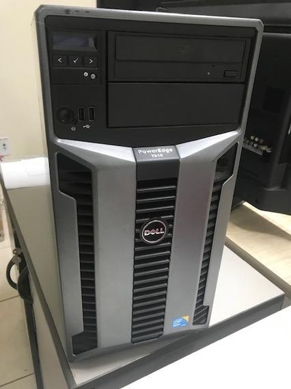 Servidor Dell Poweredge T610, 32ram 2hd 600, Semi-novo