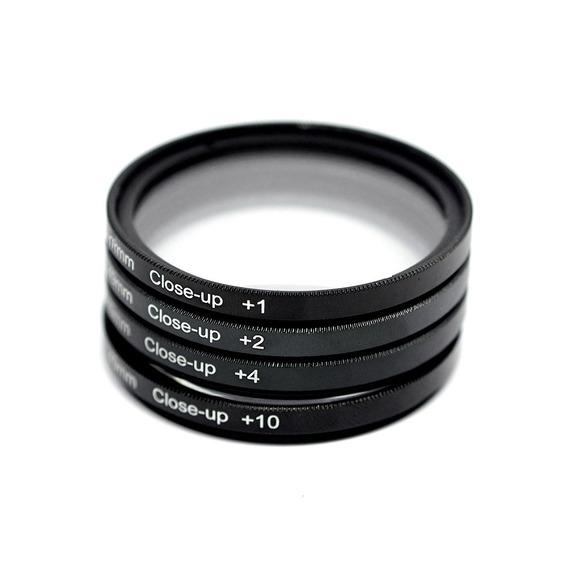 Kit 55mm Macro Nikon Af-p 18-55mm D5600 D5500 D3300 D3200
