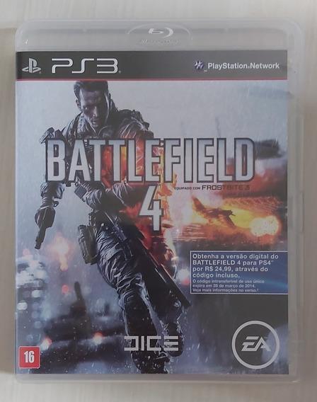 Jogo Battlefield 4 - Ps3 - Mídia Física - Usado
