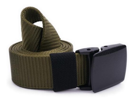 Cinturón Táctico De Nylon Vstone Azul, Verde Y Negro Envío Gratis