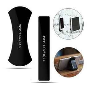 Suporte Celular Flourish Lama Tablet Sticks Gel Preta Pad