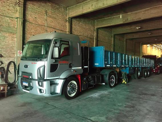 Ford Cargo Mod 2017 - Impecable - Engomado Con Accesorios