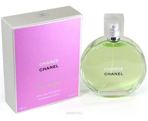 Perfume Chance Eau Fraiche De Chanel Para Dama 100 Ml