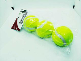 Pack De Pelotas De Tennis X3 Piezas.