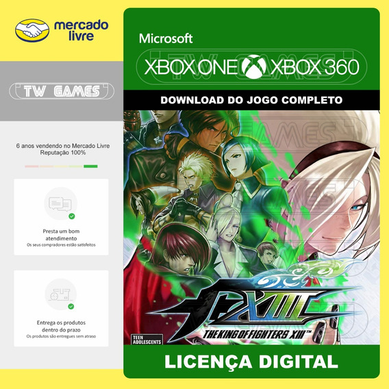 Kof Xiii 13 Digital Retro Xbox One Xbox 360