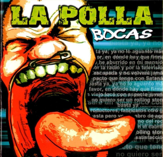 Cd La Polla Records Bocas