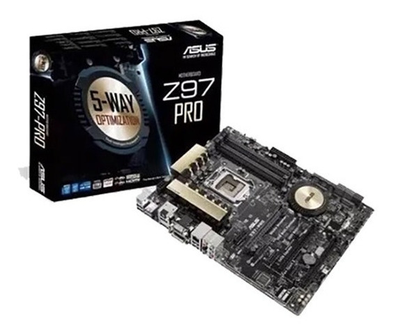 Asus Z97 Pro Wifi Ac + I7 4790k + 16gb Ram Hyperx + 1tb Hd