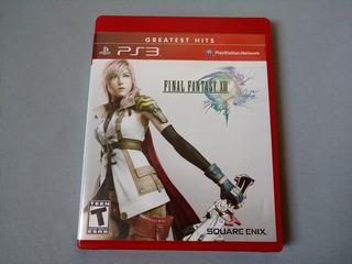 Final Fantasy 13 Xiii Greatest Hits Para Ps3