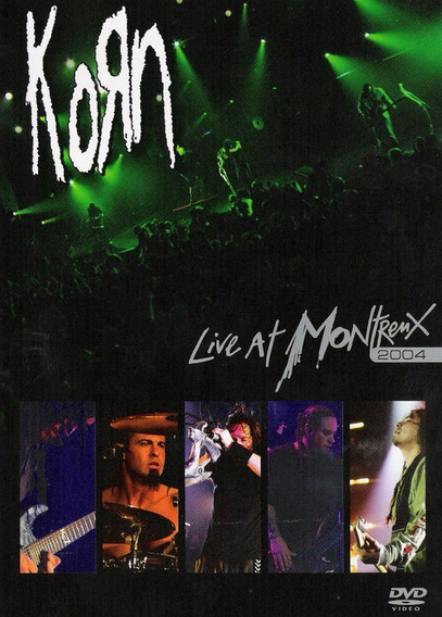 Korn Live At Montreux 2004 Dvd Nuevo Sellado