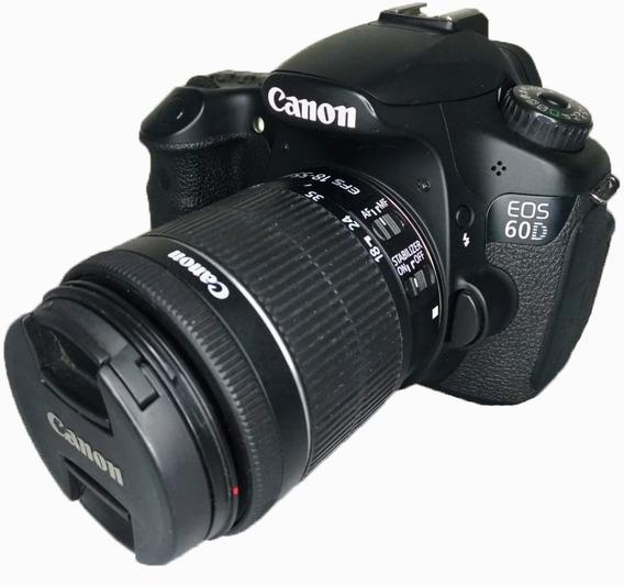 Canon 60d (semi Nova) + Lente 18-55mm Perfeitas