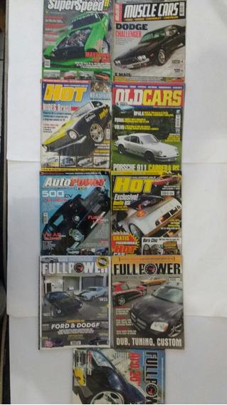 9 Revistas Full Power Super Speed Old Cars Hot Frete Grátis.