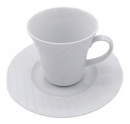 Taza Con Plato 180 Cc Ceramica Ekose Cafe Vajilla Oferta